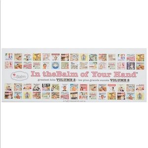 In thebalm of your hand volume 2 BRAND NEW